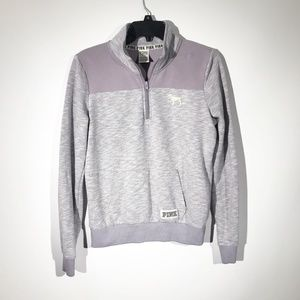 VS PINK | Lavender 1/4 Zip Pullover